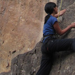 The 'Virgin' Rock-Climbing Experience
