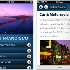 Free Lonely Planet iPhone apps for Stranded Travellers in North America
